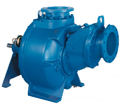 Barnes and Crown Self-Priming Solids Handling Centrifugal Pumps