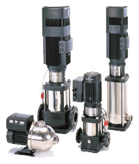 Electronic,Variable,Frequency,Pump,CR Pump,Series E,Grundfos,Pumps