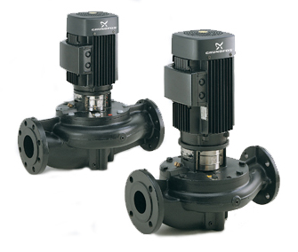 Grundfos Inline Centrifugal Suction Pump, LM, LP, Inline Centrifugal Suction Pump, Grundfos Pumps