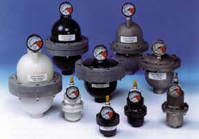 Primary Fluid Systems Inc., ACCU-VENT degassing valves, ACCUDRAW calibration cylinders, ACCU-PULSE pulsation dampeners, corporation stops, injection quills and TOP VALVE back pressure valves