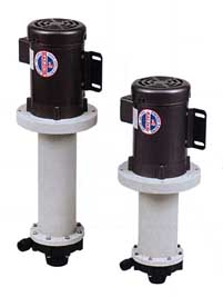 Promag MV Series, Vertical, Seal-Less, Mag-Drive, Thermoplastic, Centrifugal Pumps
